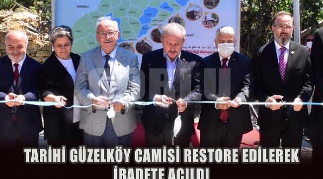 Tarihi Güzelköy Cami Restore Edildi